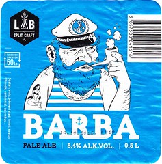 Croatia - LAB Split Craft (Split) (cigpack.at) Tags: croatia kroatien labsplit split lab barba paleale bier beer brauerei brewery label etikett bierflasche bieretikett flaschenetikett