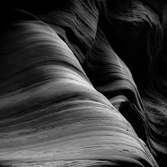 In Canyons 333 (noahbw) Tags: d5000 dof grandstaircaseescalantenationalmonument nikon ut utah wirepass abstract blackwhite blackandwhite bw canyon dark depthoffield desert erosion light lines lowlight monochrome natural noahbw rock shadow slotcanyon spring square stone