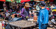 2019 - Cambodia - Sihanoukville - Phsar Leu Market - 7 of 25 (Ted's photos - Returns late November) Tags: 2019 cambodia cropped nikon nikond750 nikonfx tedmcgrath tedsphotos vignetting streetscene street denim denimjeans foreveryoung motorcycle shellfish ballcap mask facemask phsarleumarket sihanoukvillephsarleumarket phsarleumarketsihanoukville sihanoukville phsarleumarketcambodia market people