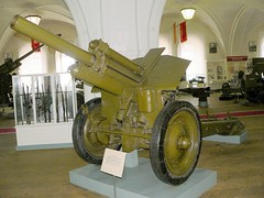 "122mm M-30 Howitzer Mod.1938 00003_ • <a style=""font-size:0.8em;"" href=""http://www.flickr.com/photos/81723459@N04/32904618137/"" target=""_blank"">View on Flickr</a>"