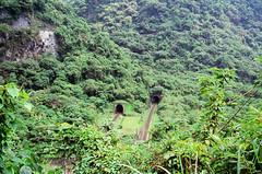 Tunnels (hhnguyen88) Tags: filmphotography fujichromevelvia100 velvia100 xincheng taiwan tarokogorge
