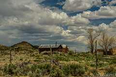 Old Homestead (Olancha Peak) Tags: 2019 goldfield lorihibbett nikon tonopah clouds goldmine historicmine nevada silvermine sunset
