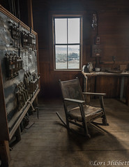 Control House and Chair (Olancha Peak) Tags: 2019 goldfield lorihibbett nikon tonopah clouds goldmine historicmine nevada silvermine sunset