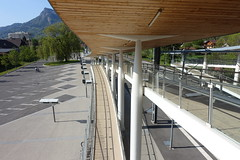SNCF train station @ Cluses @ Hike to Mont Orchez (*_*) Tags: hiking mountain montagne nature randonnee walk marche printemps spring 2019 afternoon may chablais savoie cluses europe france hautesavoie 74 gare trainstation sncf garedecluses