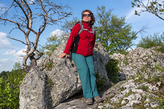 Gora Zborow (piotr_szymanek) Tags: gorazborow landscape outdoor rocks jura marzka woman milf portrait blue sky clouds tree forest 1k 20f 5k 10k