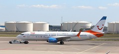 C-FTDW  Boeing 737-800 TUI Fly Netherlands lse from Sunwing CanadaAMS 130519 (kitmasterbloke) Tags: aircraft aviation transport outdoor europe jet schiphol ams amsterdam