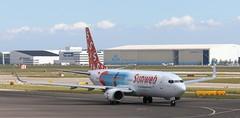 PH-HSJ Boeing 737-800 Transavia - Sunweb schemeAMS 130519 (kitmasterbloke) Tags: aircraft aviation transport outdoor europe jet schiphol ams amsterdam