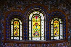 Colorful windows (KPPG) Tags: crazytuesday colorful ungarn hungary budapest gellértheilbad windows farbenprächtig architektur architecture