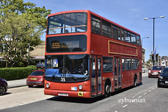 Shoreline Suncruisers Scarborough 35, R500SSB. (EYBusman) Tags: shoreline suncruisers stephenson scarborough independent bus coach valley bridge road town centre north yorkshire alexander alx400 dennis trident stagecoach east london regional transport buses 17932 lx03oth r500ssb eybusman