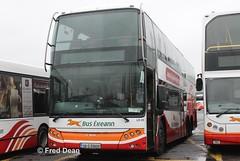 Bus Eireann LD220 (08D69809). (Fred Dean Jnr) Tags: buseireannbroadstonedepot broadstonedepotdublin broadstone february2013 buseireann daf sbr4000 vdl berkhof axial ld220 08d69809 triaxle