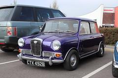 Wolseley Hornet CTX492B (Andrew 2.8i) Tags: haynes museum sparkford classic car cars classics breakfast meet show briitsh bmc saloon sedan original austin mini elf riley hornet wolseley