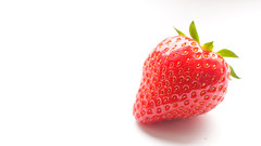 Lonely strawberry (Annika Photography) Tags: strawberry light macro food photography fruit canon 700d canon700d canont5i canonrebelt5i