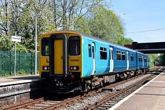 150284 - Gwersyllt (Mark_Edwards_47769) Tags: class150 150284 gwersyllt transportforwales