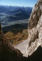 t9001013F (m-klueber.de) Tags: alpen nordalpen austria österreich tirol kaiser kaisergebirge mk1990kaiser 19901011 mk1990kaiser2 wilder ackerlspitze 1990 mkbildkatalog t9001013 t9001013f