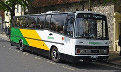 PWS 492S (tubemad) Tags: pws492s leyland leopard plaxton paramount badgerline winchester bus rally preserved