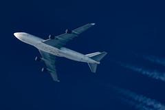Atlas Air Boeing747-412(BCF)  N471MC (Thames Air) Tags: atlas air boeing747412bcf n471mc contrails contrailspotting