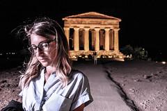 Agrigento (Riccardo Masciandaro) Tags: agrigento sicilia tempiodellaconcordia arte storia prospettiva art national girl canon lightroom sicily
