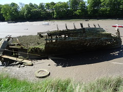 The hull of an old boat at Fremington Quay (guyfogwill) Tags: guyfogwill guy fogwill boats may devon bateau boat gbr greatbritan barnstaple spring cimetièredebateaux wreck oldboat northdevon bateaux europe uk woodenboats 2019 coastal derelict rotting bâteaux fremingtonquay fremington ex312nh tarkatrail unitedkingdom river abandoned decaying mud moored hulks flicker photo interesting absorbing engrossing fascinating riveting gripping compelling compulsive sony dschx60 coastline