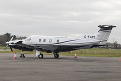 G-KARE | Graham Aircraft Hire Limited | Piliatus PC-12/47E | CN 1257 | Built 2010 | EIWT 21/03/2019 | ex M-HARP (Mick Planespotter) Tags: aircraft airport 2019 weston prop turboprop gkare graham hire limited piliatus pc1247e 1257 2010 eiwt 21032019 mharp nik sharpenerpro3