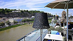 Salzburg 2019.06.01. Hotel Stein, Rooftop -1.2 (Rainer Pidun) Tags: hotelstein rooftop salzachriver salzbug