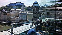 Salzburg 2019.06.01. Hotel Stein, Rooftop - 1.3 (Rainer Pidun) Tags: hotelstein rooftop salzachriver oldcity castle salzbug