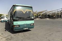 Linienbus Mercedes Busbahnhof Amman Jordanien