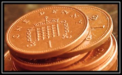 """I Need to Spend a Penny... Or Two..."" -- MACRO MONDAYS - 20.05.19 - ""Copper"" (NikonShutterBug1) Tags: macro closeup nikond7200 macromondays tamron60mmmacro spe smartphotoeditor tamron60macro tamronspaf60mmf2diiimacro penny pennies copper money"
