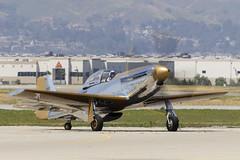 "P-51 ""Goldfinger"" (Trent Bell) Tags: aircraft planesoffameairshow planesoffame airshow chino airport california socal 2019 chinoairport p51 p51mustang nx551mb n551mb"