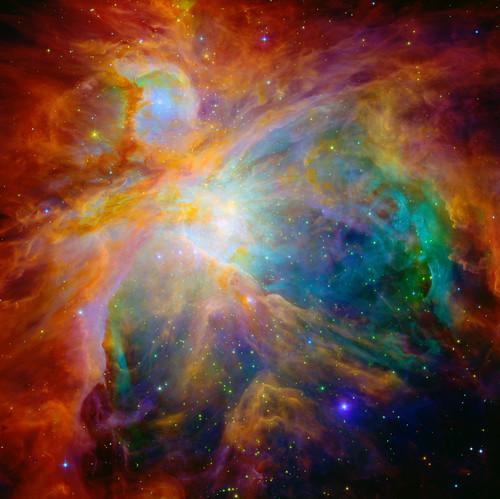 Heart of the Orion Nebula, variant