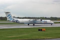 G-ECOV  DHC-8Q 402 Flybe MAN 03-05-10 (PlanecrazyUK) Tags: egcc manchester ringway manchesterairport gecov dhc8q402 flybe man 030510