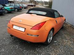 Nissan 350Z Verdeck 2003 - 2009 (best_of_ck-cabrio) Tags: ckcabrio cabrio cabriolet cabrioverdeck verdeck verdeckbezug verdeckmanufaktur manufaktur verdeckmontage montage auto autosattlerei sattler sattlerei pohlheim persenning nissan 350z