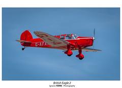 British Eagle 2 (Ignacio Ferre) Tags: britisheagle fio fundacióninfantedeorleans lecu cuatrovientos spotting españa spain madrid aircraft airplane avión aviation aviación avioneta nikon airshow red rojo