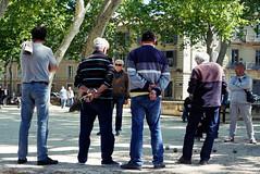 Boule (Zeigen_was) Tags: nimes france frankreich francia boule men herren game sony alpha6000 sonyalpha6000 sonyalpha travel street streetphotography streets boccia play monsieurs gentlemen