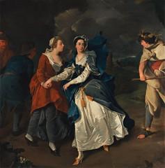 Pieter van Bleeck - Mrs. Cibber as Cordelia (1755) (Padre Martini) Tags: pietervanbleeck art paintings 1755