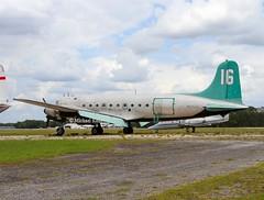 Douglas C54Q ( DC-4 )                          N55CW (Flame1958) Tags: douglas dc4 douglasdc4 keystoneheights keystoneheightsairport 090519 0519 2019 mhdrockport 9750 n55cw