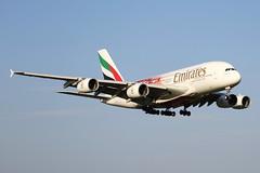 A6-EEB EMIRATES AIRBUS A380-861 (Roger Lockwood) Tags: a6eeb emirates airbusa380 manchesterairport man egcc