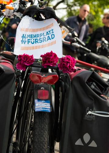#MehrPlatzFürsRad-Demo-Demo in Dresden am 12. Mai 2019