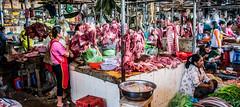 2019 - Cambodia - Sihanoukville - Phsar Leu Market - 13 of 25 (Ted's photos - Returns late November) Tags: 2019 cambodia cropped nikon nikond750 nikonfx tedmcgrath tedsphotos vignetting meat butcher market uppermarket sihanoukville sihanoukvillecambodia phsarleumarket phsarleumarketsihanoukville sihanoukvillephsarleumarket sihanoukvilleuppermarket baskets wideangle widescreen