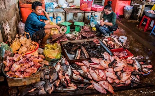 2019 - Cambodia - Sihanoukville - Phsar Leu Market  - 14 of 25