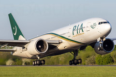PIA AP-BGY 14-5-2019 (Enda Burke) Tags: pia pakistan pakistaninternationalairlines avgeek aviation airplane airport apbgy egcc engine engines ge90 runway ringway travel takeoff taxiing manchesterairport manchester man manc manairport manchestercity mcr taxiway terminal1 777200 boeing777200