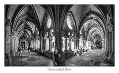 Claustro catedral de Oporto (Rafael Cejudo Martinez) Tags: panoramica claustro oporto catedral