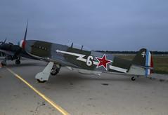 Yak 9 on the Ramp (dcnelson1898) Tags: 2019planesoffameairshow planesoffamemuseum chino chinoairport california airshow aviation airplanes flight militaryhistory soviet yak9 fighter worldwar2