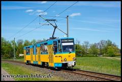 317-2019-04-25-4-Waltershausen (steffenhege) Tags: thüringerwaldbahn gotha überlandbahn strasenbahn streetcar tram tramway tatra ckd kt4dc 317