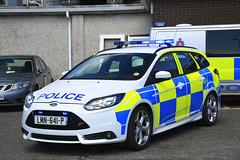 LMN-641-P (S11 AUN) Tags: isleofman manx police ford focus st estate ciu collision investigation traffic car anpr video equipped rpu roads policing unit 999 emergency vehicle lmn641p 2014