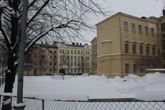 Helsinki view 393 (sohvimus) Tags: helsinki helsingfors lumi talvi suomi finland snow winter kaartinkaupunki vinter grundskolannorsen helsínquia hiver
