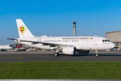 Airbus A319-115(CJ) Republic of Senegal 6V-ONE (Clément W.) Tags: airbus a319115cj republic senegal 6vone cdg lfpg