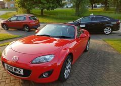 2010 Mazda MX-5 Roadster (Stuart Axe) Tags: mazda mazdamx5 mx5 car roadster ford mondeo miata mazdamiata titaniumx fordmondeotitaniumx taxi hackneycarriage england uk unitedkingdom gb greatbritain fordmondeo ea63ldj peugeot