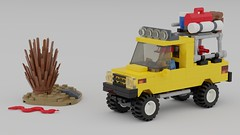 Expedition Vehicle - 01 (Paul -) Tags: lego pickup 6490 expedition