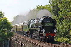 Clan Line (Treflyn) Tags: rebuilt bulleid navy class 462 pacific 35028 clanline earley reading london victoria bath bristol belmond british pullman dining excursion merchant main line steam