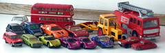 New fleamarket diecast finds 120DKR / £15 for all Dinky Merryweather & Majorette Volvo 245 are my favourites (sms88aec) Tags: new fleamarket diecast finds 120dkr £15 for all dinky merryweather majorette volvo 245 favourites